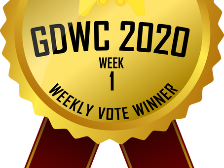 VHR wins the 1st' week of the GDWC's weekly fan favorite vote!