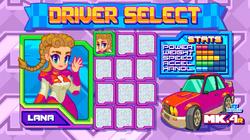 Shakedown Demo_Driver Select