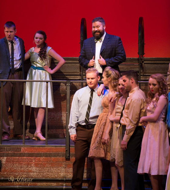 Mike as Principal Gladhand in West Side Story