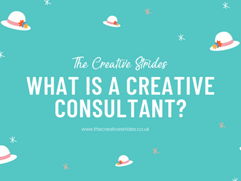 What is a Creative Marketing Consultant? And, do I need one?