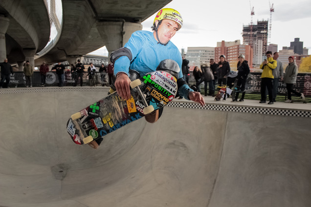 Andy Mac | Skate Park Opening, Boston