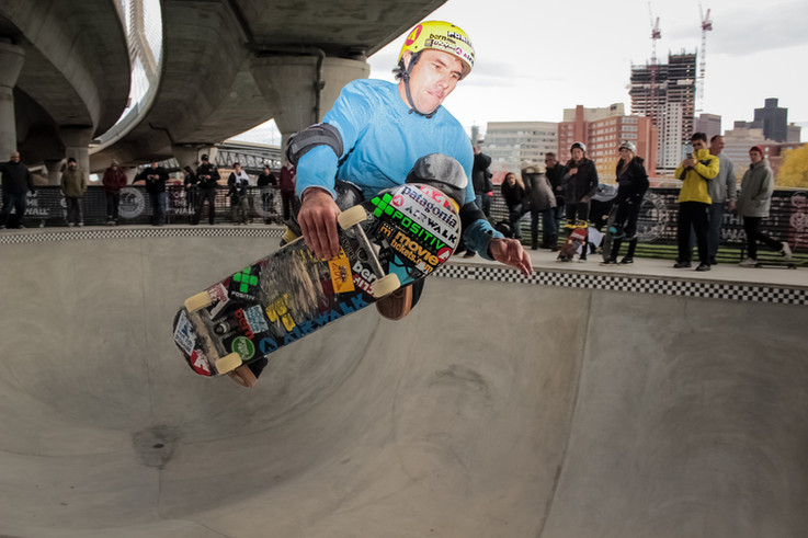 Andy Mac | Skate Park Opening, Boston