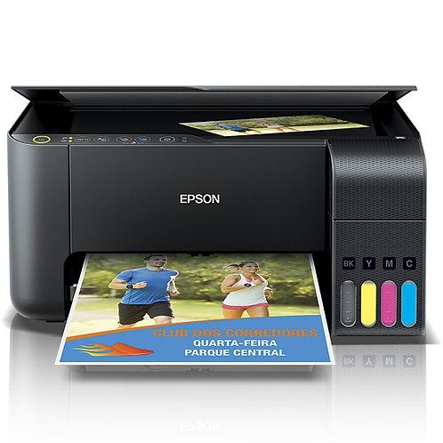 Impressora Jato de Tinta Multifuncional Epson L3150 Tanque de Tinta Ecotank Wire