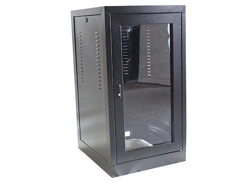 Rack Fibra Tellecom 40U X 600 Preparado p/ Ventilação Piso 19'' Preto