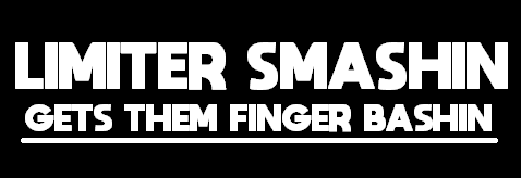 LIMITER SMASHING GETS THEM FINGER BASHING Sticker