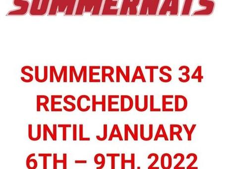 SUMMERNATS 34 RESCHEDULED