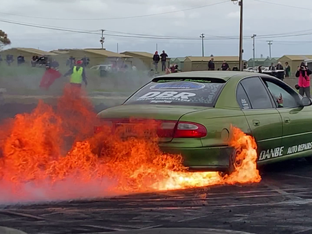 GET PAID FOR DOING A BURNOUT!