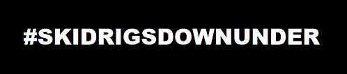 #skidrigsdownunder Sticker