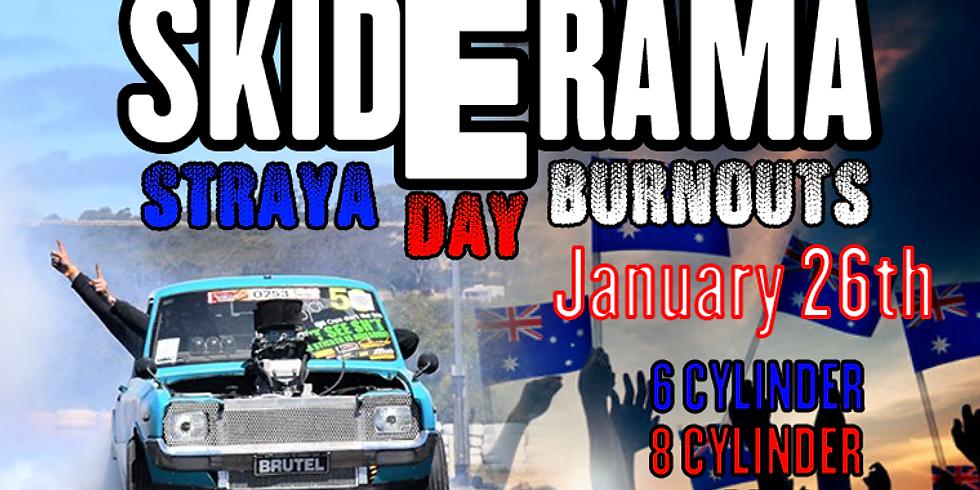 Skiderama Burnout Competition