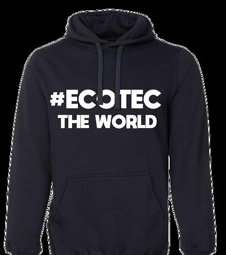 Hoodie #ECOTECTHEWORLD