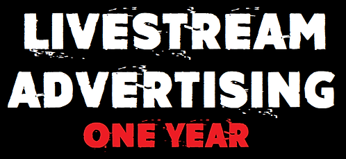 Livestream Advertising One Year