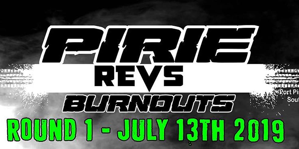 SA Pirie Revs Burnouts