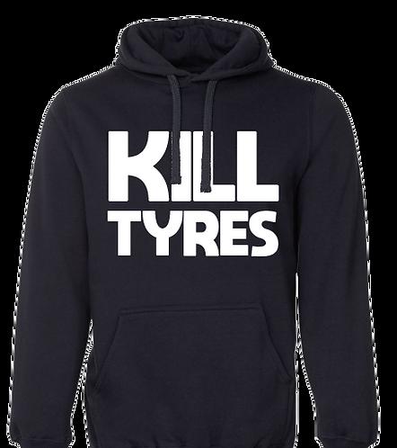 Hoodie KILL TYRES