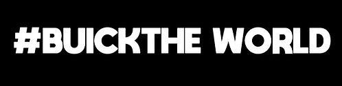 #BUICKTHEWORLD Sticker