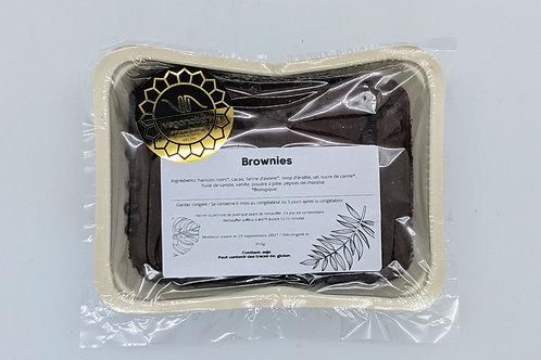 Brownies aux haricots noirs (congelé)