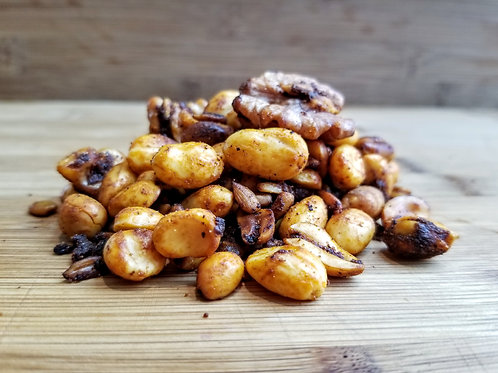 Spicy BBQ Nuts