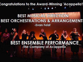Who says that Geek A Cappella can't write a winning musical?