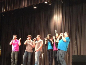 Clinic and Performance at A Cappella Invitational
