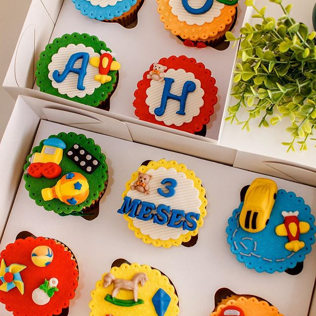 Caixa de Cupcakes