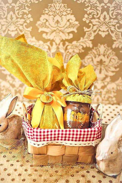 Cestinha Happy Easter Yellow