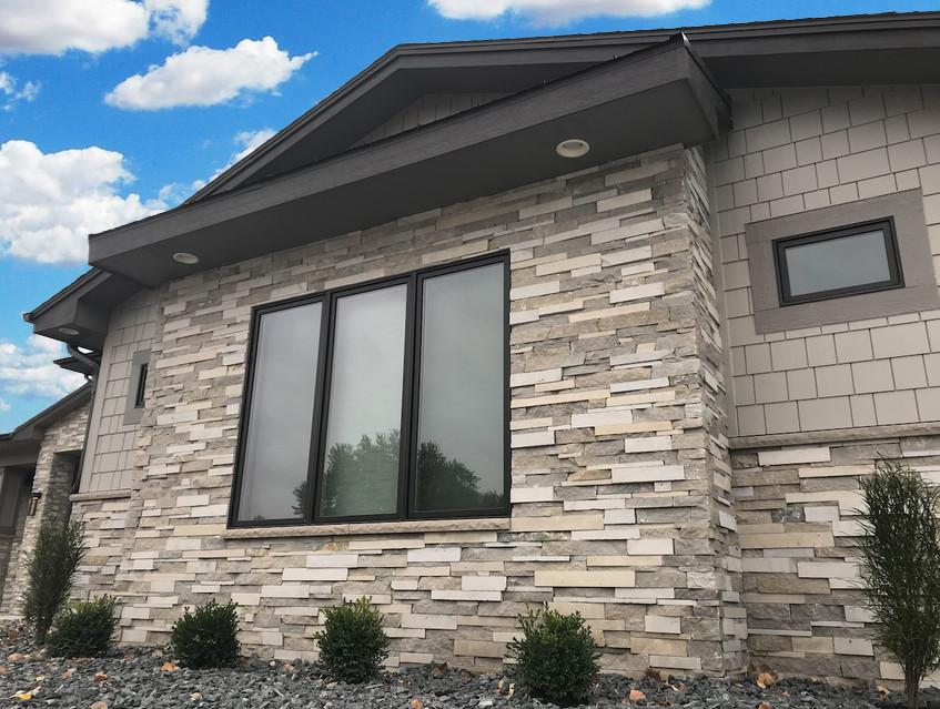 Flint Hills Multiledge 123 | Stone Veneer