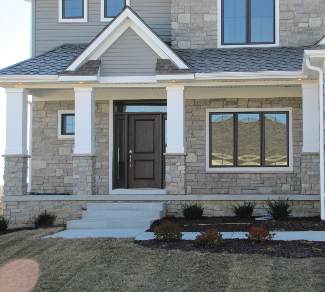 Sunset Tumbled Ashlar | Stone Veneer