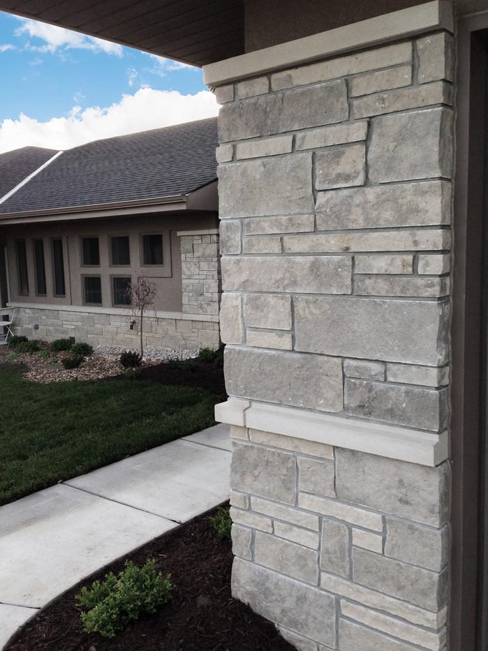 Flint Hills Dimensional   Stone Veneer