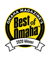 Omaha Magazine's Best Of Omaha 2020 Winner