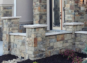 Indiana | Natural Stone Caps | Fort Collins | Castle Rock | Roca | Omaha