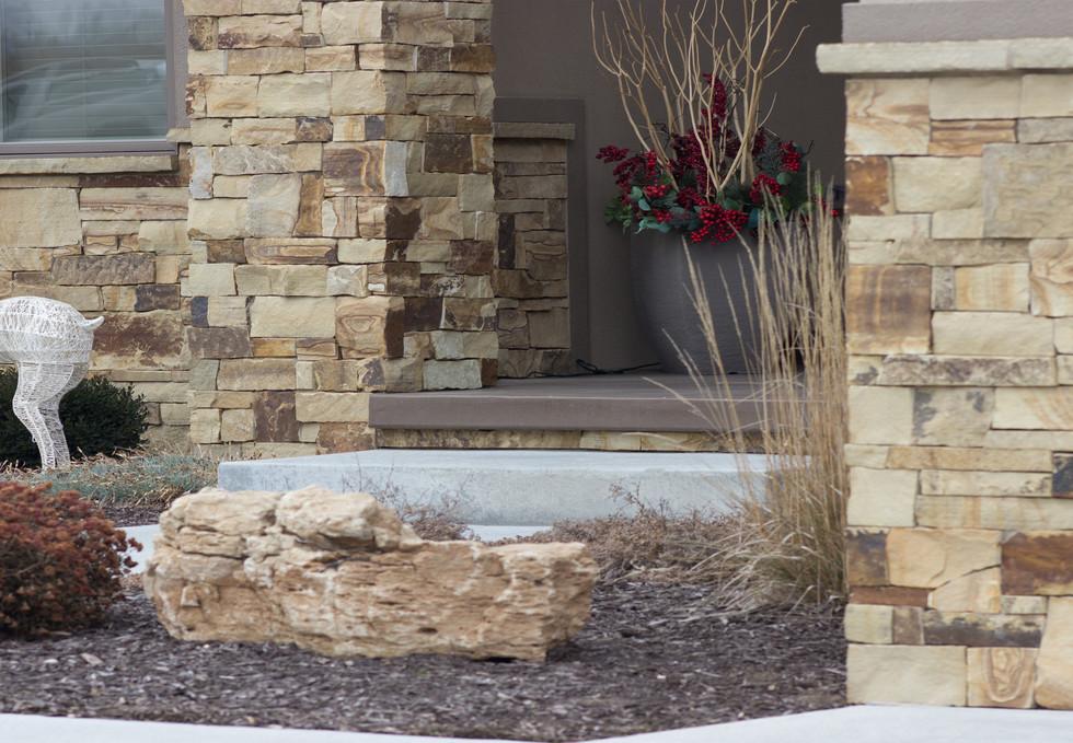 Oakwood Ashlar   Natural Stone Veneer