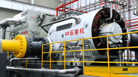 003  Pipeline Natural gas compressor for