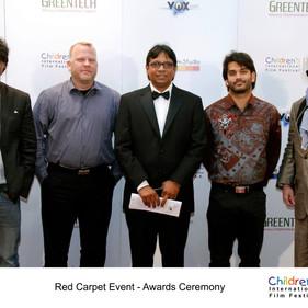 Jury du Children Film Festival  2014 à Dubaï