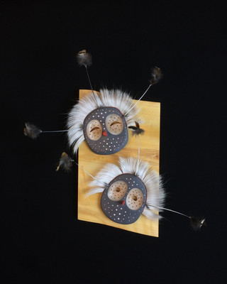 Owl Family Series 'Brothers'