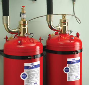 Refilling & Service Exchange 10 Year Hydrostatic Testing of Fire Suppression Cylinders