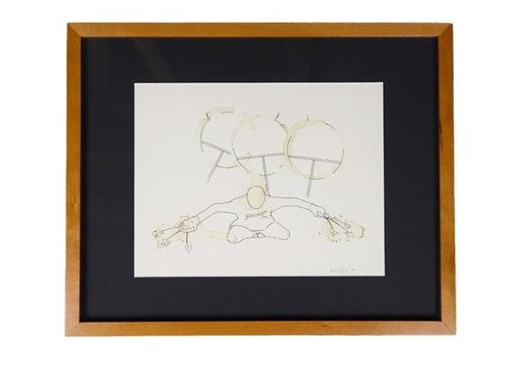 'The Dancer' - Custom Framed Print