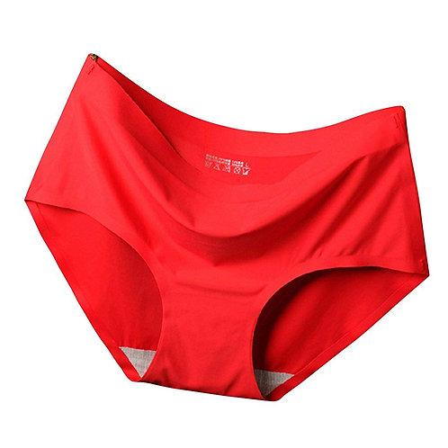 【即納】開運パンツ《シームレス ショーツ》赤のみ・30枚セット レディース  パンツ 無縫製 とても柔らかでパンツにひびかないショーツ M~XL