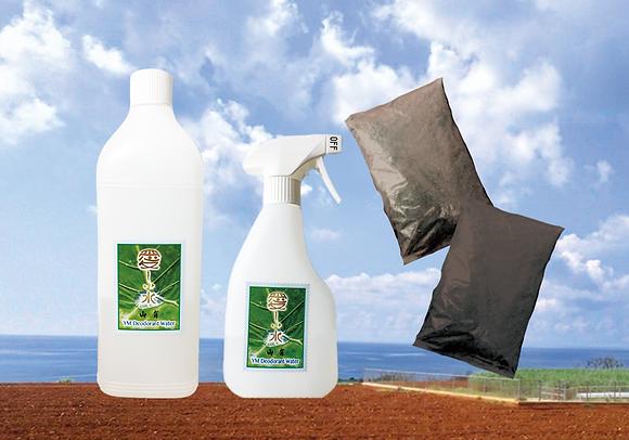 ②愛しい水 YM菌 スタートセット 2L・500mlスプレー・YM肥料