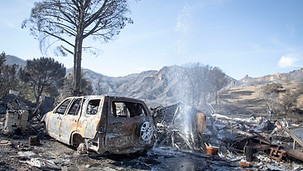 California's DIY firefighters battle alone as the richest hire private teams, The Guardian