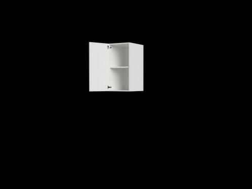 W1632 1 16 Wide X 32 High Single Door Wall Cabinet