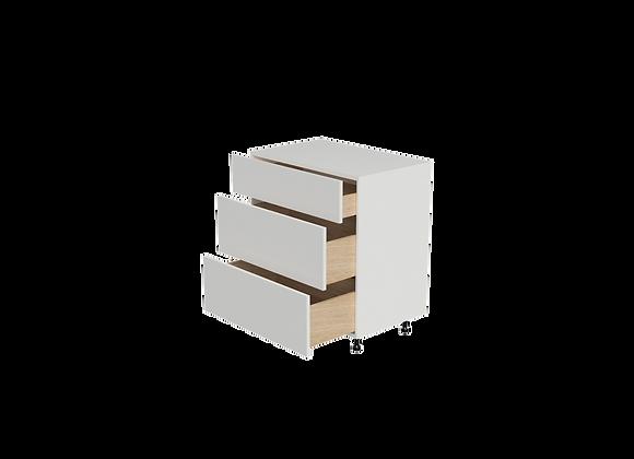 "B3236-3 | 32"" Wide x 36"" High - 3 Drawer Base Cabinet"
