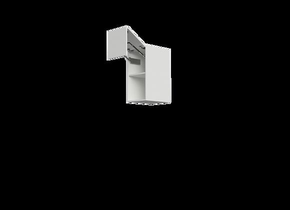 """W1632-3   16"""" Wide x 32"""" High - Split Door Wall Cabinet"""