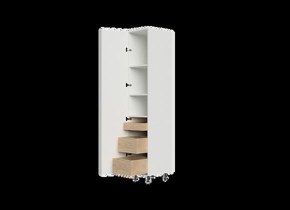 """T1684-3   16"""" Wide x 84"""" High - 3 Drawer Storage Cabinet"""
