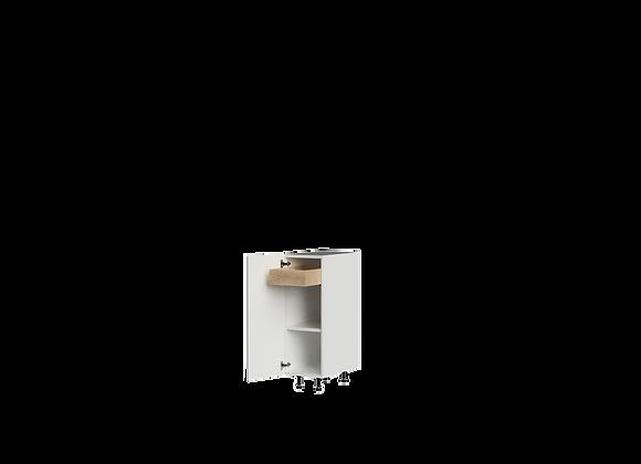 "B1236-1 | 12"" Wide x 36"" High - 1 Drawer Base Cabinet"