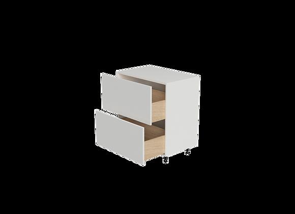 "B3236-2 | 32"" Wide x 36"" High - 2 Drawer Base Cabinet"