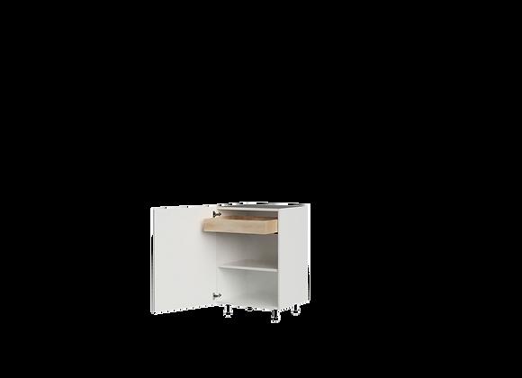 "B2436-1 | 24"" Wide x 36"" High - 1 Drawer Base Cabinet"