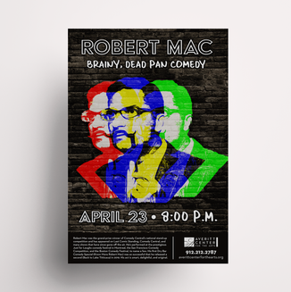 Robert Mac Poster
