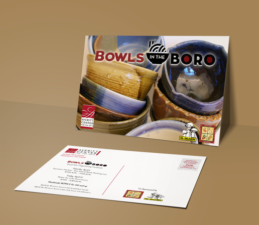 Bowls in the Boro Postcard