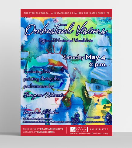 Orchestral Visions Poster