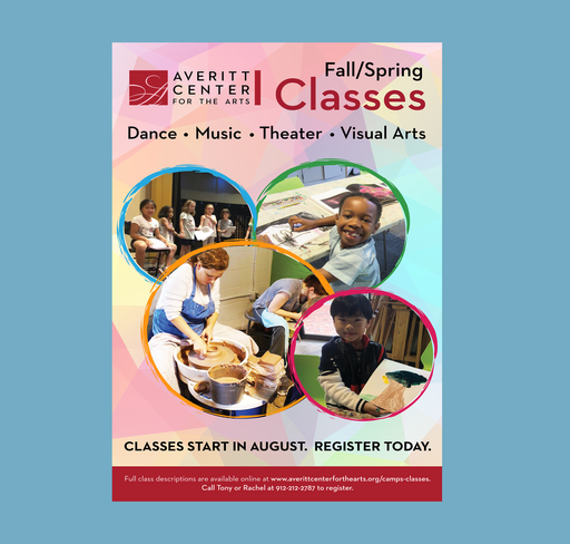 Fall Classes Poster