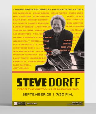 Steve Dorff Poster